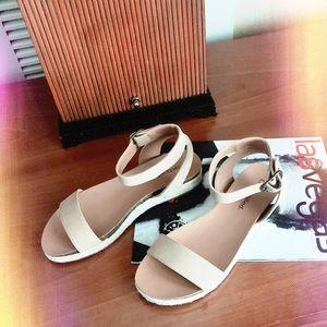 tacoma neutral ankle strap espadrille sandal